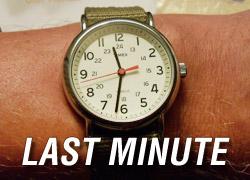 Last minute - obniżka 20%