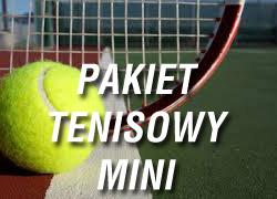 Pakiet tenisowy mini